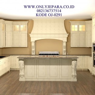 Kitchen Set Duco Permeter Lari Mewah 2018